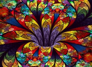 Fractal Flower - Obrázkek zdarma pro 1280x960