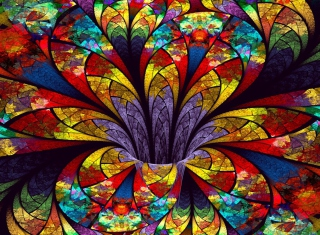 Fractal Flower - Obrázkek zdarma pro Widescreen Desktop PC 1680x1050