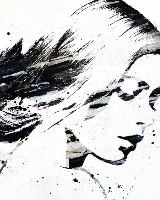 Catherine Zeta Jones Graffiti - Obrázkek zdarma pro Nokia Lumia 810