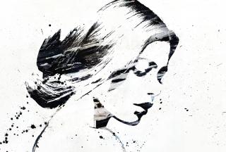 Catherine Zeta Jones Graffiti - Obrázkek zdarma pro 480x320