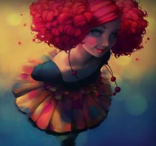 Fantasy Girl - Obrázkek zdarma pro iPad mini