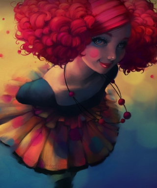 Fantasy Girl - Obrázkek zdarma pro 176x220