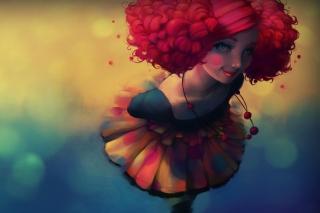 Fantasy Girl - Obrázkek zdarma pro Nokia Asha 302