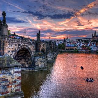 Charles Bridge in Prague - Obrázkek zdarma pro iPad 2