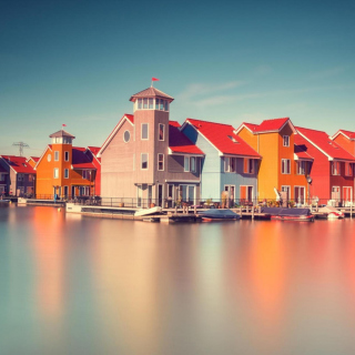 Groningen, Netherlands - Obrázkek zdarma pro 1024x1024