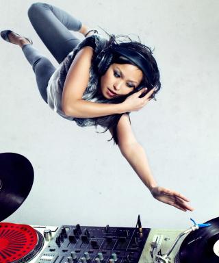 Dj Girl - Obrázkek zdarma pro Nokia Asha 503