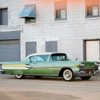 Pontiac Bonneville 1954 - Obrázkek zdarma pro 128x128