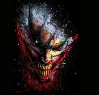 Joker Batman - Obrázkek zdarma pro iPad 2
