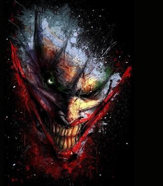 Joker Batman - Obrázkek zdarma pro 320x480