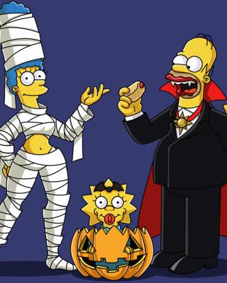 The Simpsons - Obrázkek zdarma pro Nokia Asha 202