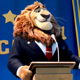 Zootopia Lion - Obrázkek zdarma pro 2048x2048