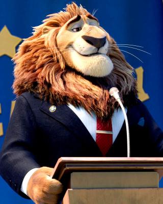 Zootopia Lion - Obrázkek zdarma pro iPhone 5C