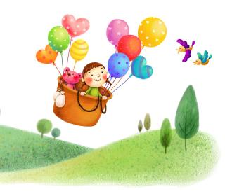 Colorful Balloons Sky Trip - Obrázkek zdarma pro iPad Air