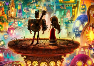 Book Of Love - Boxtrolls - Obrázkek zdarma pro Widescreen Desktop PC 1920x1080 Full HD