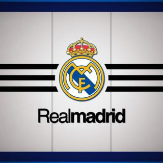 Real Madrid Logo - Obrázkek zdarma pro iPad