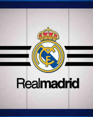 Real Madrid Logo - Obrázkek zdarma pro Nokia Lumia 2520