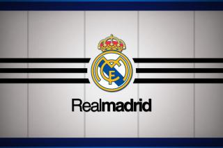 Real Madrid Logo - Obrázkek zdarma pro Fullscreen Desktop 1024x768