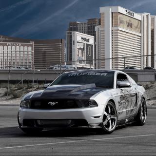 Ford Mustang Aerography - Obrázkek zdarma pro iPad mini 2