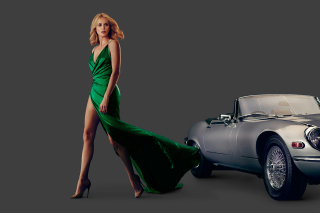 Charlize Theron in Car Advertising - Obrázkek zdarma pro Desktop Netbook 1024x600