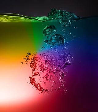 Rainbow Water - Obrázkek zdarma pro Nokia Asha 203