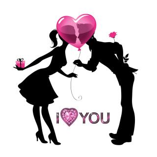 I Love You - Obrázkek zdarma pro iPad 2