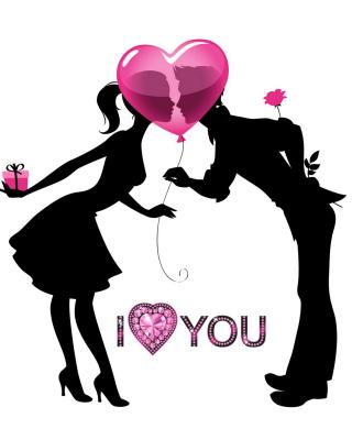 I Love You - Obrázkek zdarma pro 1080x1920