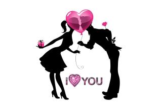I Love You - Obrázkek zdarma pro Nokia Asha 210