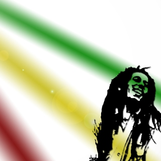 Bob Marley - Obrázkek zdarma pro iPad 3