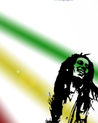 Bob Marley - Obrázkek zdarma pro Nokia 5800 XpressMusic