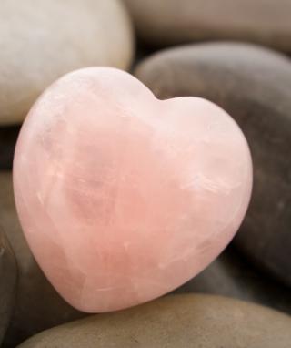 Heart Shaped Rock - Obrázkek zdarma pro Nokia Asha 503