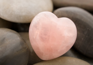 Heart Shaped Rock Picture for Android, iPhone and iPad