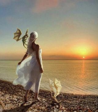 Princess Of Dragons - Obrázkek zdarma pro Nokia X2