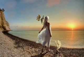 Princess Of Dragons - Obrázkek zdarma pro Sony Xperia Z