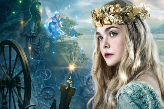 Elle Fanning As Princess Aurora Background for Android, iPhone and iPad