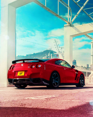 Free Nissan GT R R35 Picture for LG 230 Simple Flip