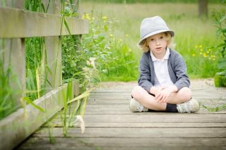 Cute Blonde Boy - Obrázkek zdarma pro Samsung Galaxy Tab 3 10.1