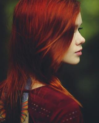 Redhead Girl - Fondos de pantalla gratis para Nokia 5230