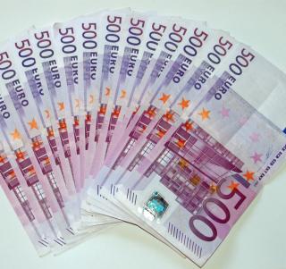500 Euro Cash - Obrázkek zdarma pro 320x320