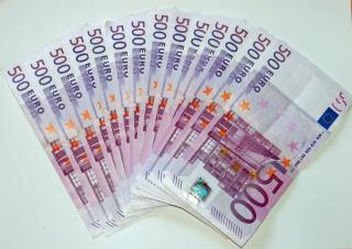 500 Euro Cash - Obrázkek zdarma pro 1400x1050