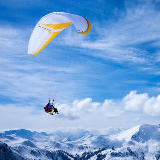 Paragliding - Obrázkek zdarma pro iPad 2