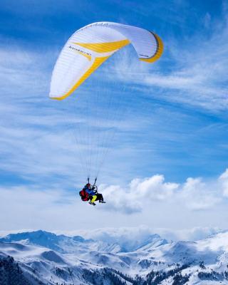 Paragliding - Obrázkek zdarma pro Nokia Asha 502