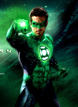 Green Lantern - DC Comics - Obrázkek zdarma pro Nokia C6-01