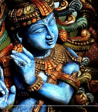 Lord Krishna - Obrázkek zdarma pro Nokia X3-02