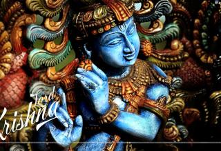 Lord Krishna - Obrázkek zdarma pro Nokia X2-01