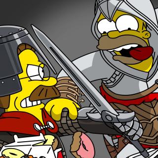 The Simpsons, Homer Simpson - Obrázkek zdarma pro iPad