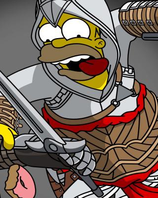 The Simpsons, Homer Simpson - Obrázkek zdarma pro Nokia C-Series