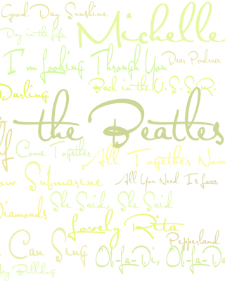 The Beatles Album - Obrázkek zdarma pro Nokia X6
