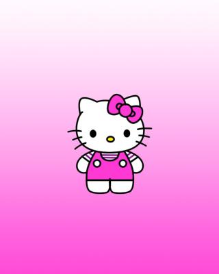 Hello Kitty - Obrázkek zdarma pro Nokia Asha 305