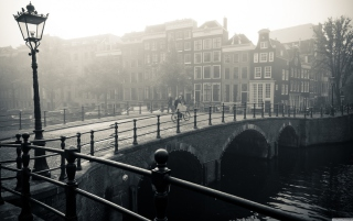 Misty Amsterdam Picture for Android, iPhone and iPad