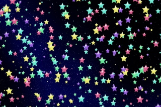 Colorful Stars Background for Android, iPhone and iPad